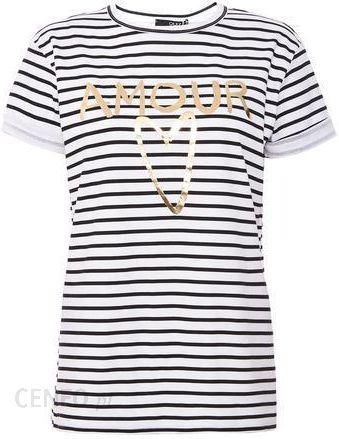 da11cffed58e Guess *White Stripe Slogan T-shirt - zdjęcie 1