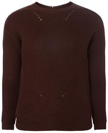 competitive price 3a6bc be8f8 Guess Karo-Pullover mit Hohem Ausschnitt, Petite-Größe