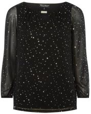 Guess **Billie & Blossom Black Kimono Sleeve Blouse Ceneo.pl