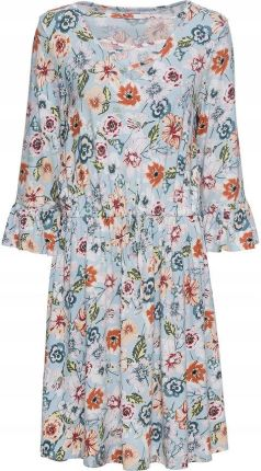 4fd7f0bb50 Sukienka Maxi Zwiewna Długa Kwiaty Rozcięcia PK787 - Ceny i opinie ...