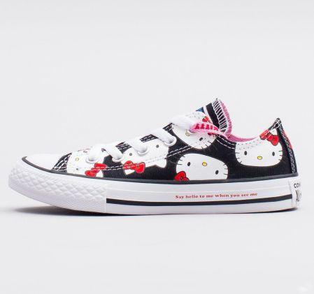 Skórzane buty Converse Chucks CT STREET MID w kolorze