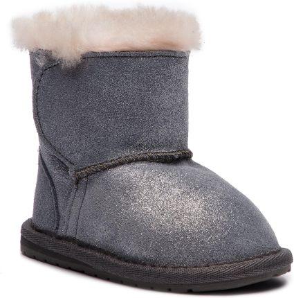 3e26884684f23 Buty EMU AUSTRALIA - Toddle Metallic B11905 Charcoal/Anthracite eobuwie