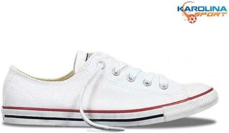 BUTY TRAMPKI białe CONVERSE ALL STAR (M7652C) Biały 37,5 Ceny i opinie Ceneo.pl