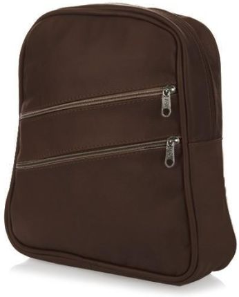 aca24109f BRĄZOWA ZGRABNA DAMSKA TOREBKA PLECACZEK plecak SKÓRZANA ORYGINALNA Made in  Poland 022