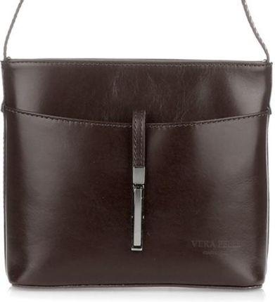 fc8876e6625ef Torebki Listonoszki Skórzane Firmy Genuine Leather Czerwona (kolory ...