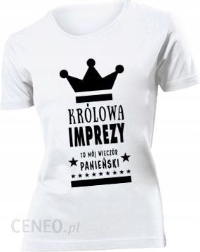 Koszulka damska Wieczor Panienski Krolowa L Ceny i opinie Ceneo.pl