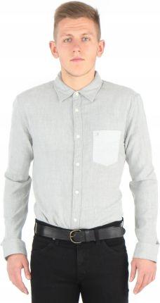 373e694fc89af Wrangler shirt W5760NN37 Koszula Szara L Allegro
