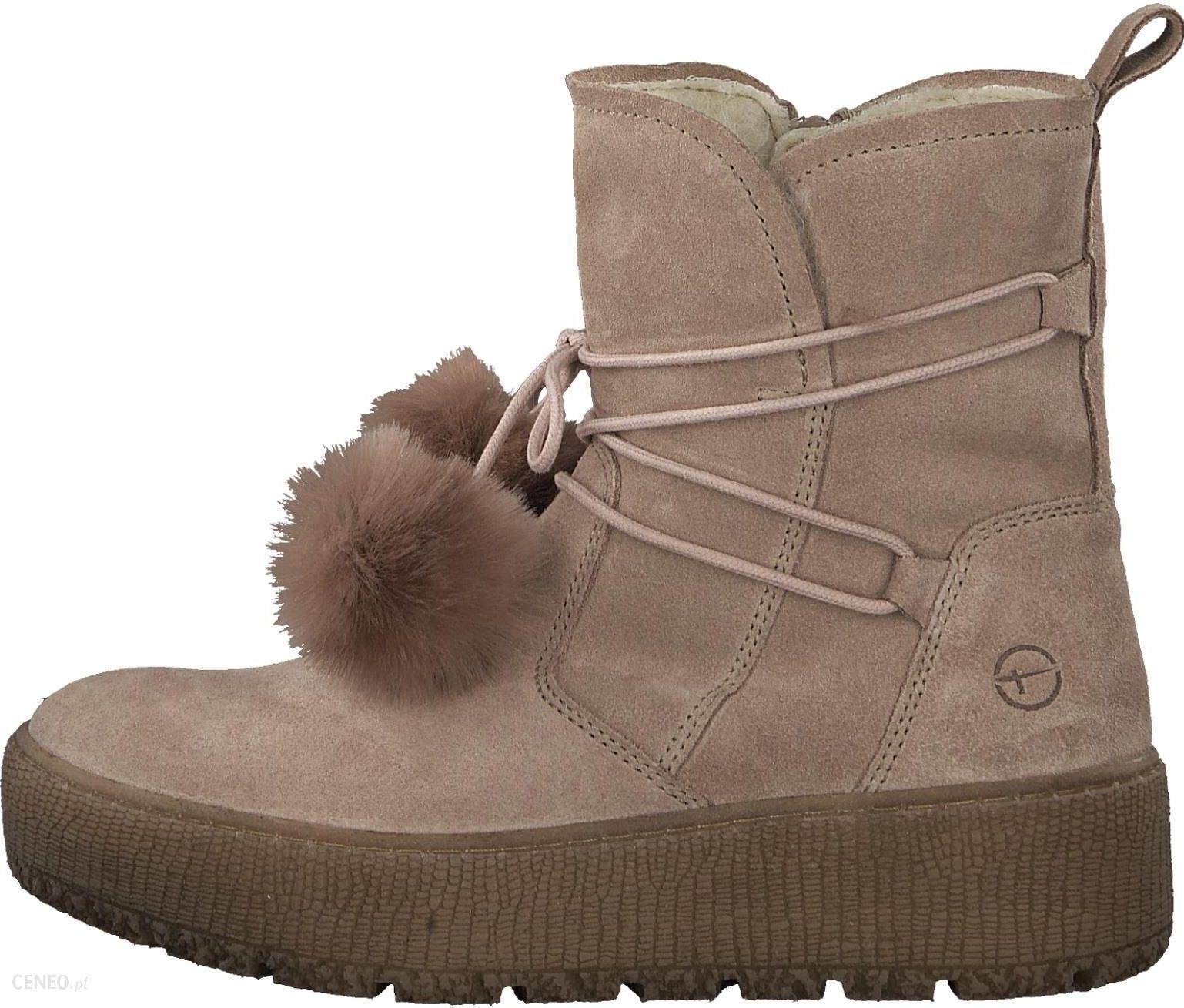 c88456a48366 Tamaris buty zimowe damskie 37 różowy - Ceny i opinie - Ceneo.pl