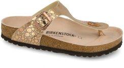 Buty Birkenstock Gizeh Metallic Copper 1005674 - Ceny i opinie ... 4ee339459c1