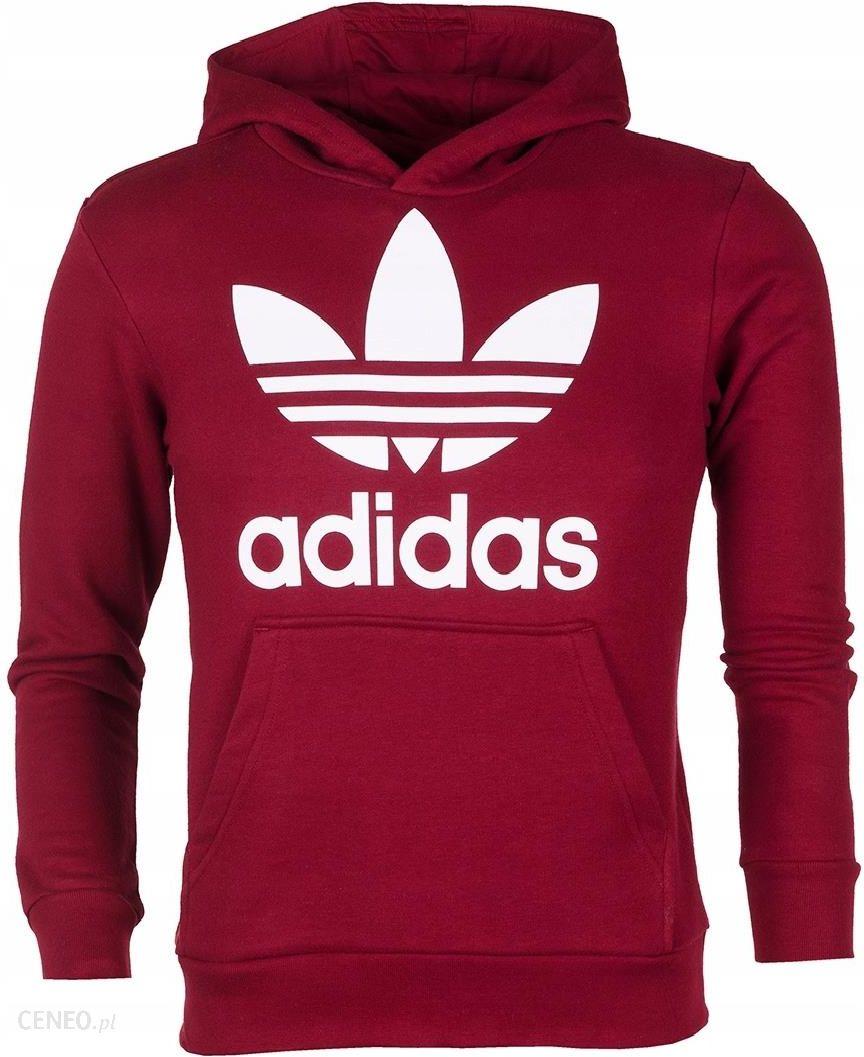 czerwona bluza adidas 158 chłopięca