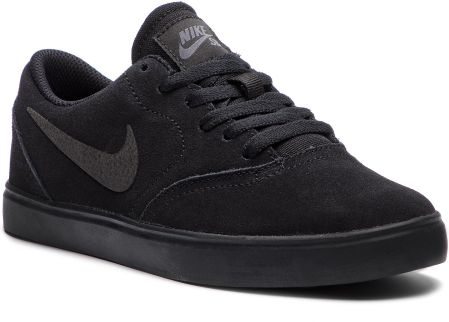 Buty NIKE - Sb Check Suede (GS) AR0132 001 Black/Black Anthracite
