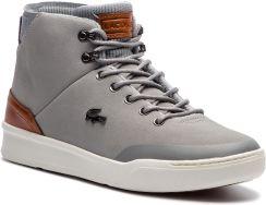 3b728995657a Sneakersy LACOSTE - Explorateur Classic 318 2 CAM 7-36CAM00266M3 Gry Brw  eobuwie. Buty sportowe ...