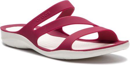 c54e30f19c81 Klapki CROCS - Swiftwater Sandal W 203998 Blue Jean Pearl White ...