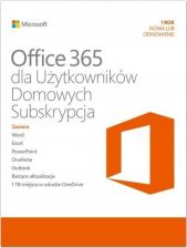 Microsoft Office 365 Home PL 1Rok 5U Box (6GQ01016)
