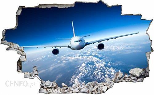 Amazon Samolot Airline Ziemi Earth3d Look Tatuaż Na ścianę 70 X 115