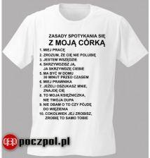 T shirt 10 zasad randkowania z moją córką