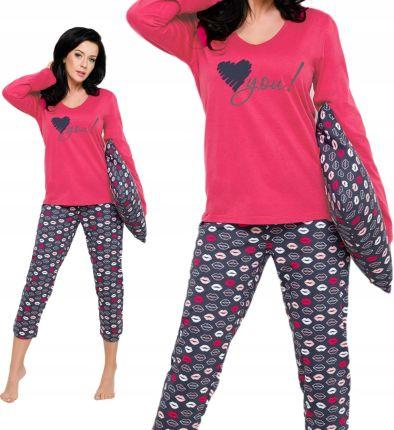 f816d527572053 Taro 2227 piżama damska Felicja bawełna M