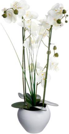 07ac8fc20d84b4 Atmosphera Créateur D'Intérieur Sztuczna Orchidee W Ceramicznej Doniczce  Emako