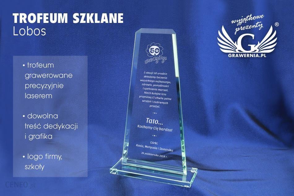 a2859f943042e7 Grawernia Trofeum Szklane Lobos - Ceny i opinie - Ceneo.pl