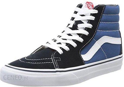 Amazon Vans Sk8 Hi Classic SuedeCanvas buty sportowe dla dorosłych, uniseks, kolor: niebieski (granatowy), rozmiar: 43 Ceneo.pl