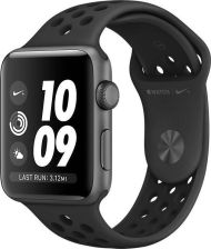 Apple Watch Nike+ Series 3 GPS 38mm Gwiezdna Szarość/ Czarny (MTF12MP/A)
