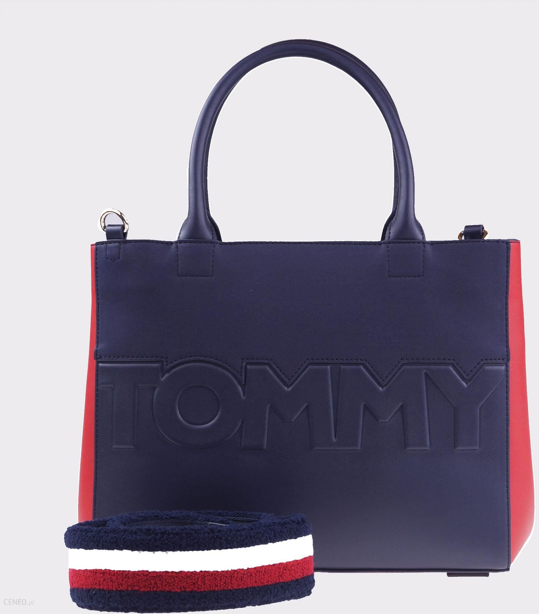887d230a4d47a Torebka Tommy Hilfiger Logo - Ceny i opinie - Ceneo.pl