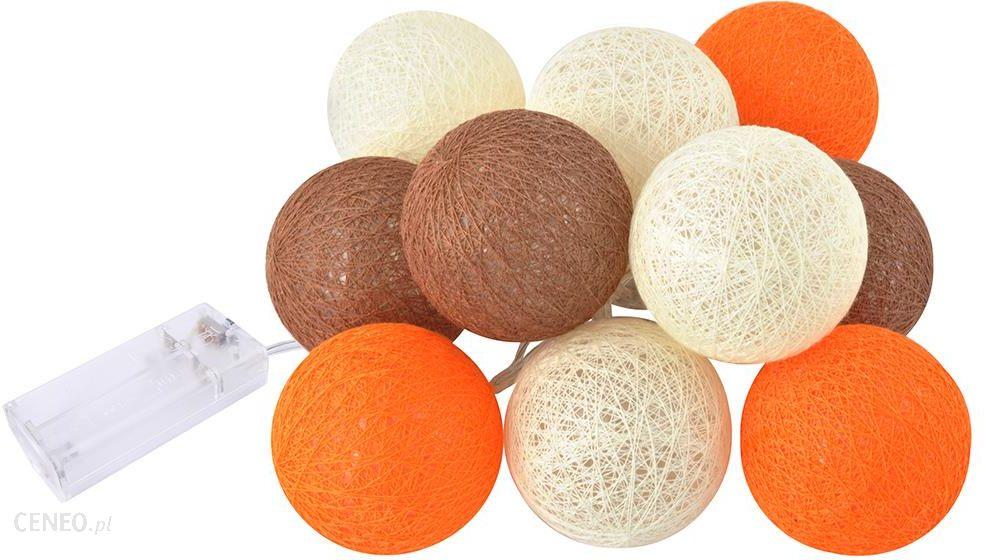 Cotton Balls świecące Kule Lampki Ball 10 Kul Led