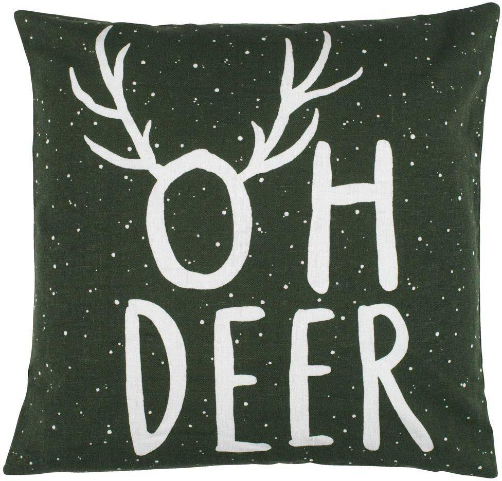 Jysk Poszewka Ozd Oden 40x40 Oh Deer Zielony Opinie I Atrakcyjne Ceny Na Ceneopl