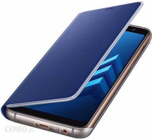 d99d2e58fe9 IziGSM oryginalne Neon Flip EF-FA530PL niebieskie do Galaxy A8 2018 -  zdjęcie 1