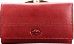 690164ae3d62d Portfel damski skórzany EL FORREST 906 42 Czerwony - czerwony - Ceny ...
