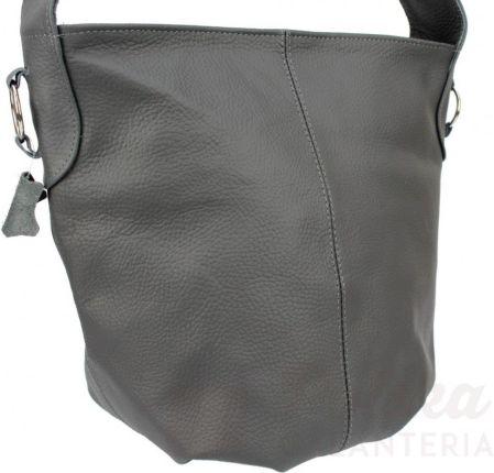 d8f77a3f4631f Torebka Skórzana MAGRE (PL) Shopper Bag ARLETA Skóra Naturalna GRAFITOWY