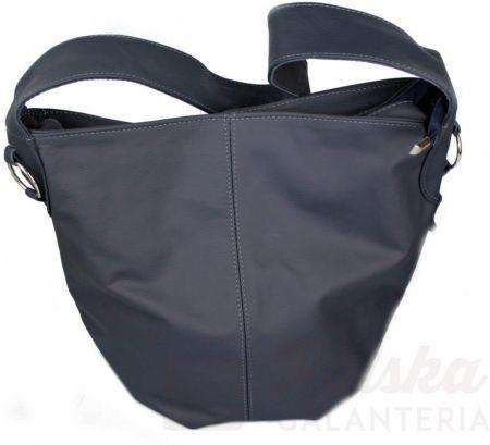 bbf636b8bbaed Torebka Skórzana MAGRE (PL) Shopper Bag ARLETA Skóra Naturalna ŚLIWKA