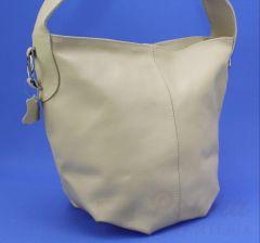 a3768dfee895b Torebka Skórzana MAGRE (PL) Shopper Bag ARLETA Skóra Naturalna CIELISTY