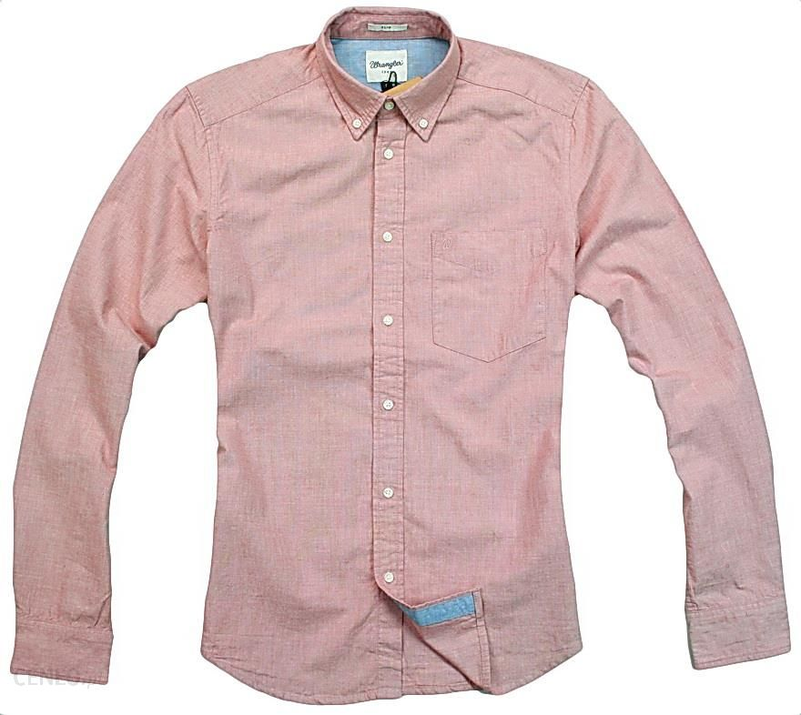 9e173733 Wrangler 1PKT Shirt Slim Fit Red Ochre Koszula L - Ceny i opinie - Ceneo.pl