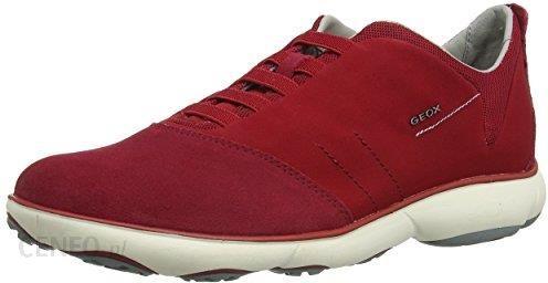 746d41ab424b79 Amazon Buty sportowe Geox dla mężczyzn, kolor: czerwony, rozmiar: 42 -  zdjęcie