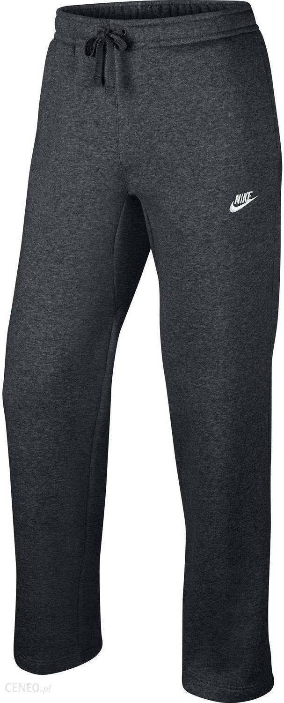 Spodnie dresowe męskie Sportswear NSW Club Fleece Nike (ciemnoszare) Ceny i opinie Ceneo.pl