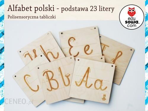 Edusowa Alfabet Polski Podstawa 23 Litery Ceny I Opinie Ceneopl