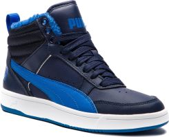 72f6ede4ca1c0 Sneakersy PUMA - Rebound Street V2 Fur Jr 363919 05 Peacoat/Strong  Blue/White eobuwie