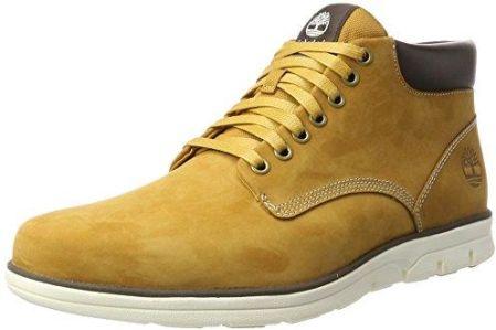 9bb67ce03e95 Amazon Timberland Chukka Leather High-Top męska bluza z kapturem - żółty ...