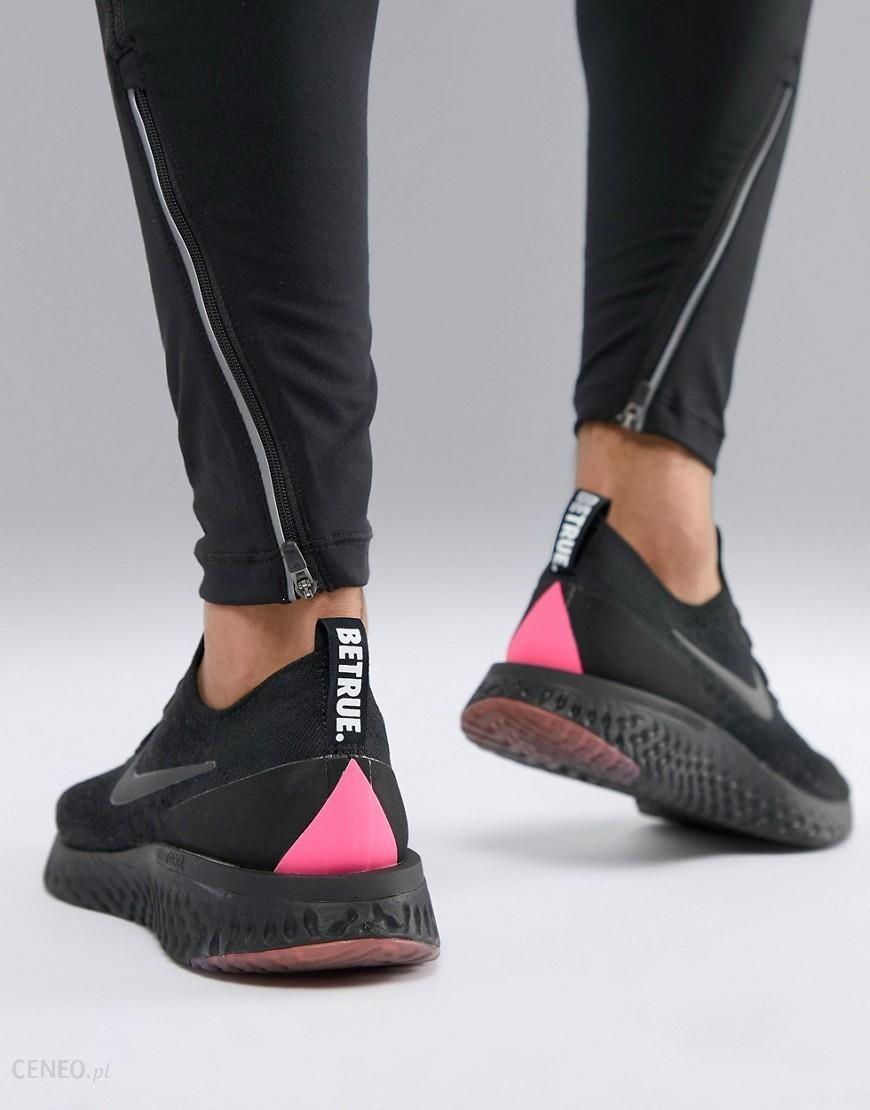 pretty nice 262df e9da2 Nike Running BETRUE Epic React Flyknit trainers in multi - Black - zdjęcie 1