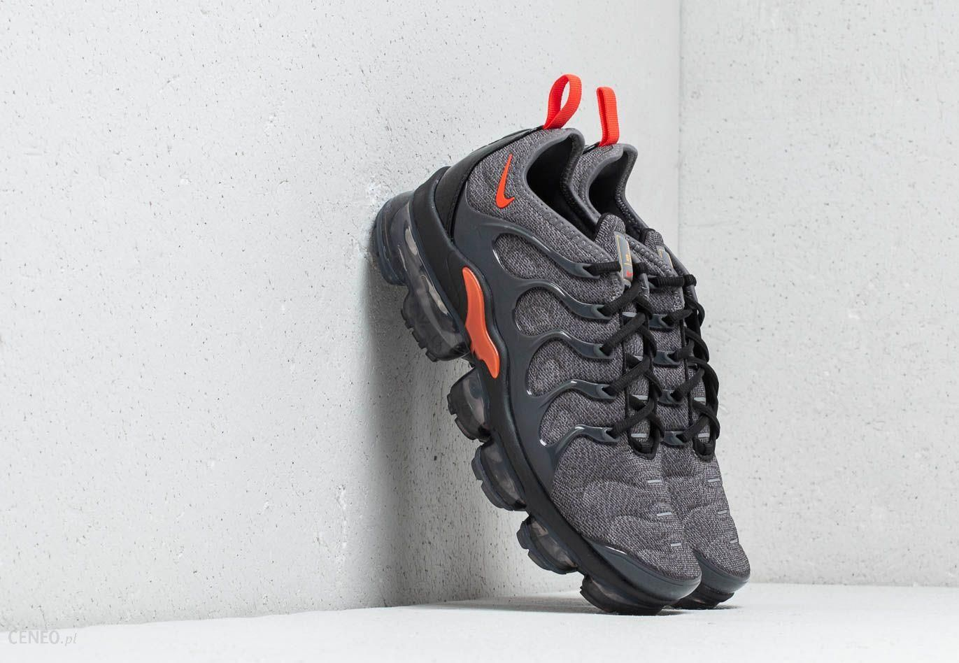 cheaper eb601 88708 Nike Air Vapormax Plus Cool Grey  Team Orange - zdjęcie 1