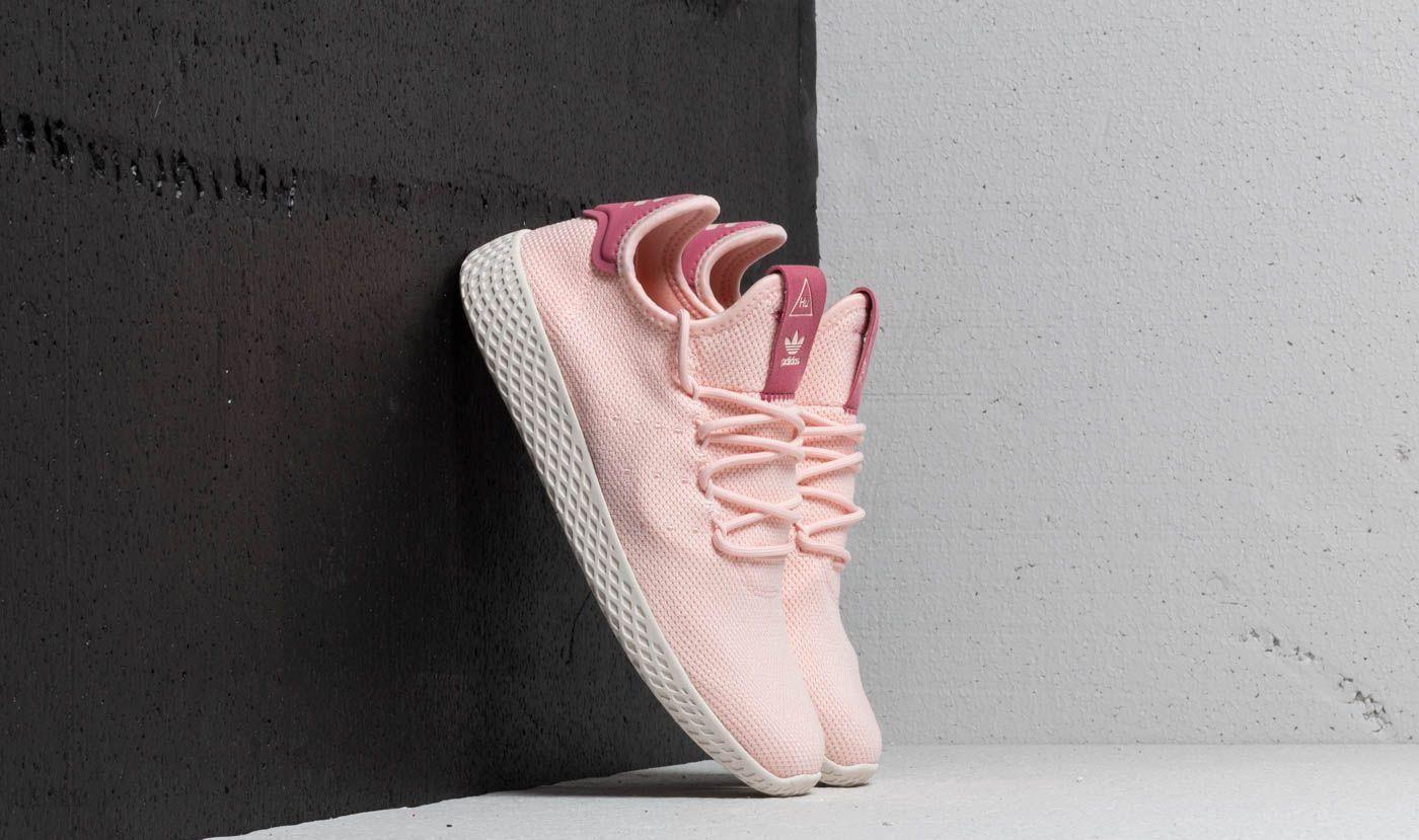 adidas x Pharrell Williams Tennis HU W Icey Pink Icey Pink Chalk White | Footshop