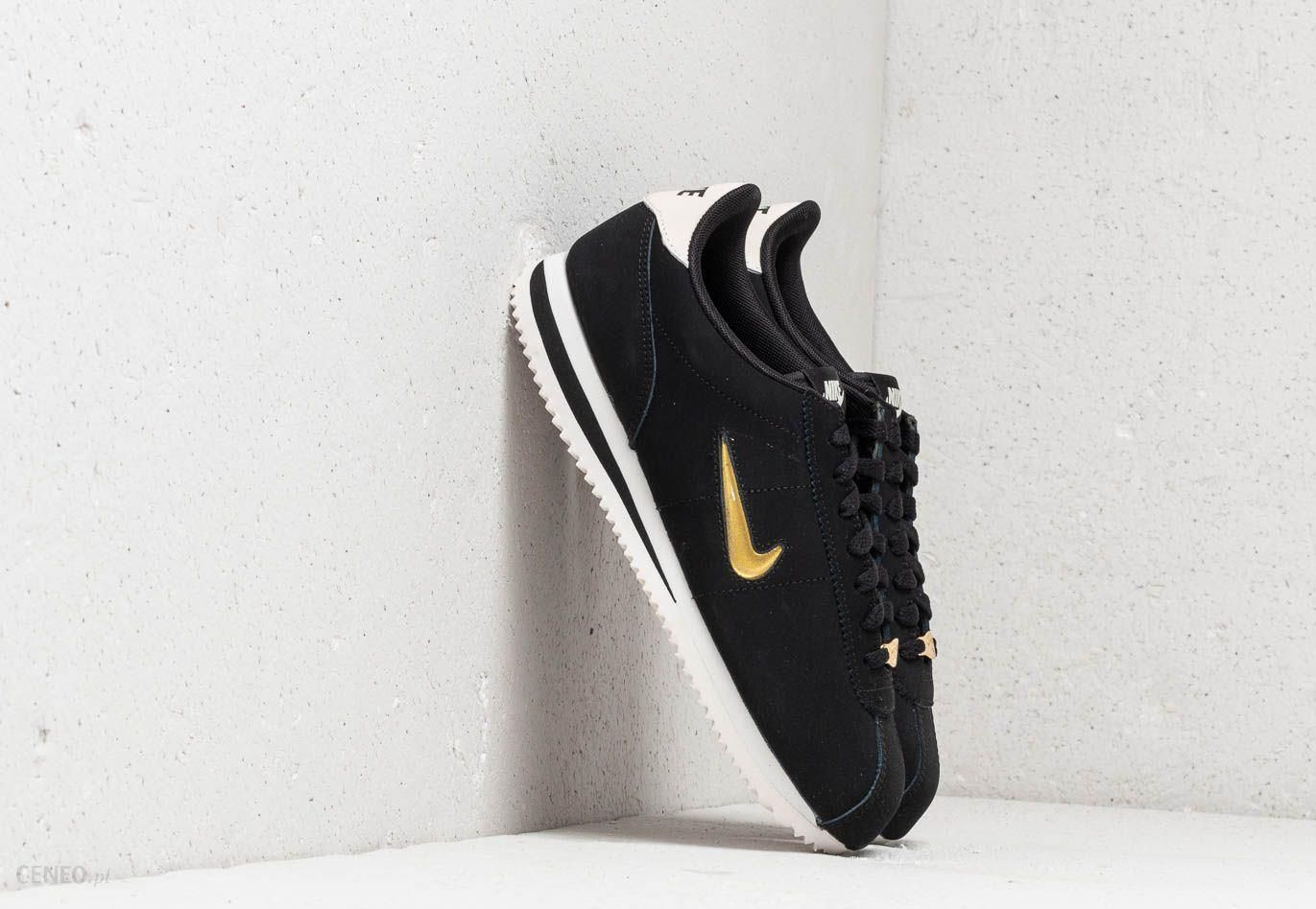 half off 1f250 9a3fe Nike Cortez Basic Jewel ´18 Wmns Black  Metallic Gold-Phantom - zdjęcie 1