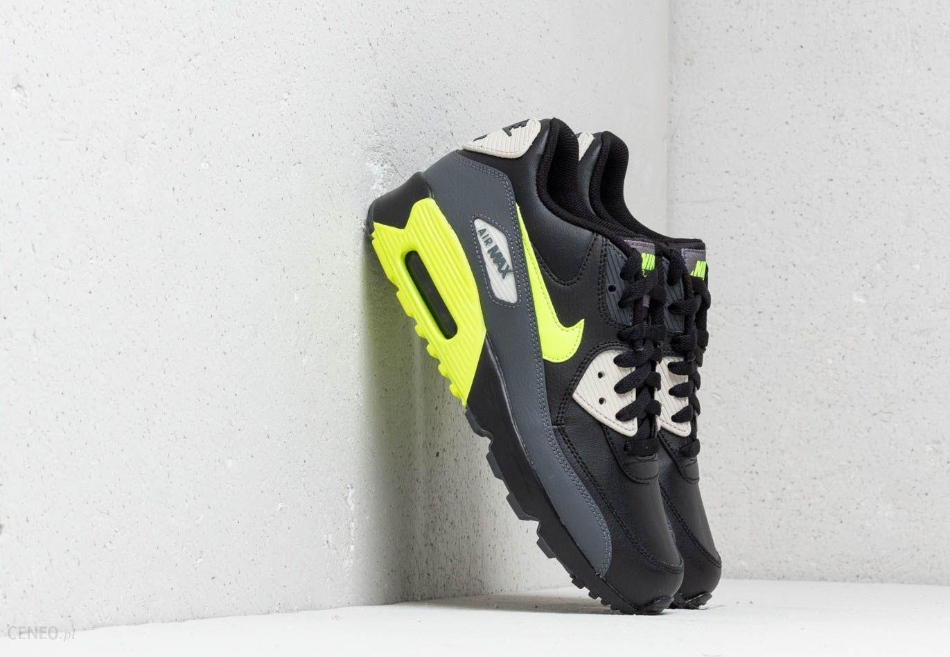 Nike Air Max 90 Leather (GS) Dark Grey Vold Black