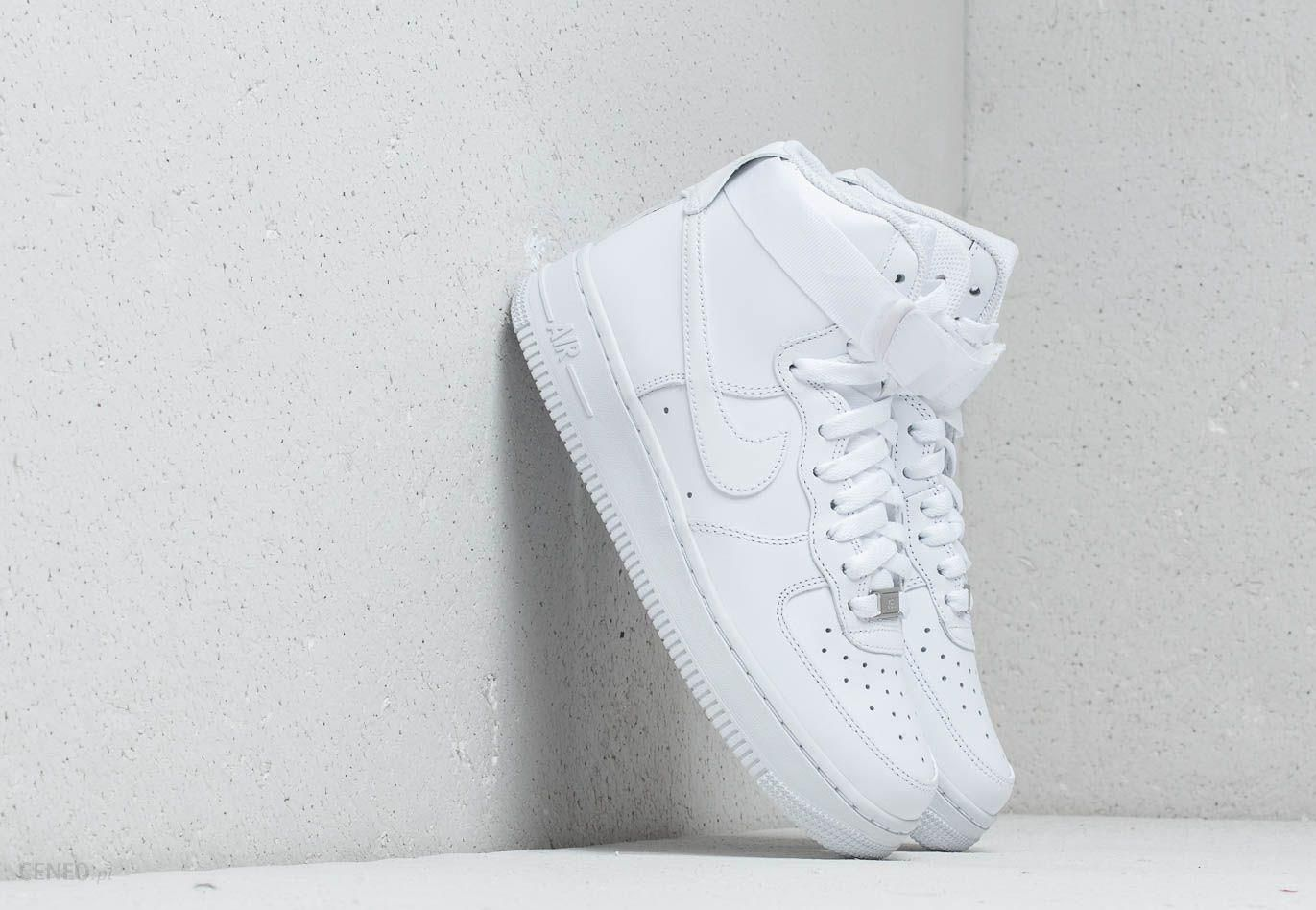 Nike Wmns Air Force 1 High White White White