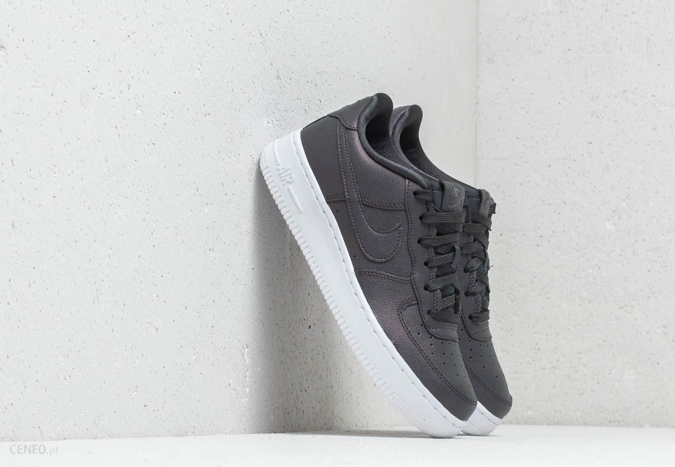 nike sportswear air force 1 anthracite biały