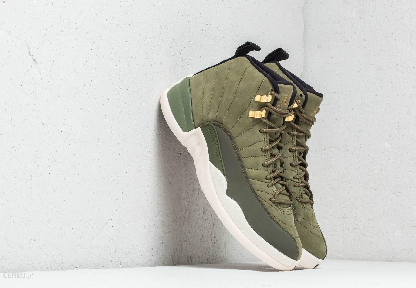 info for 36c84 123dc Air Jordan 12 Retro Olive Canvas/ Metallic Gold
