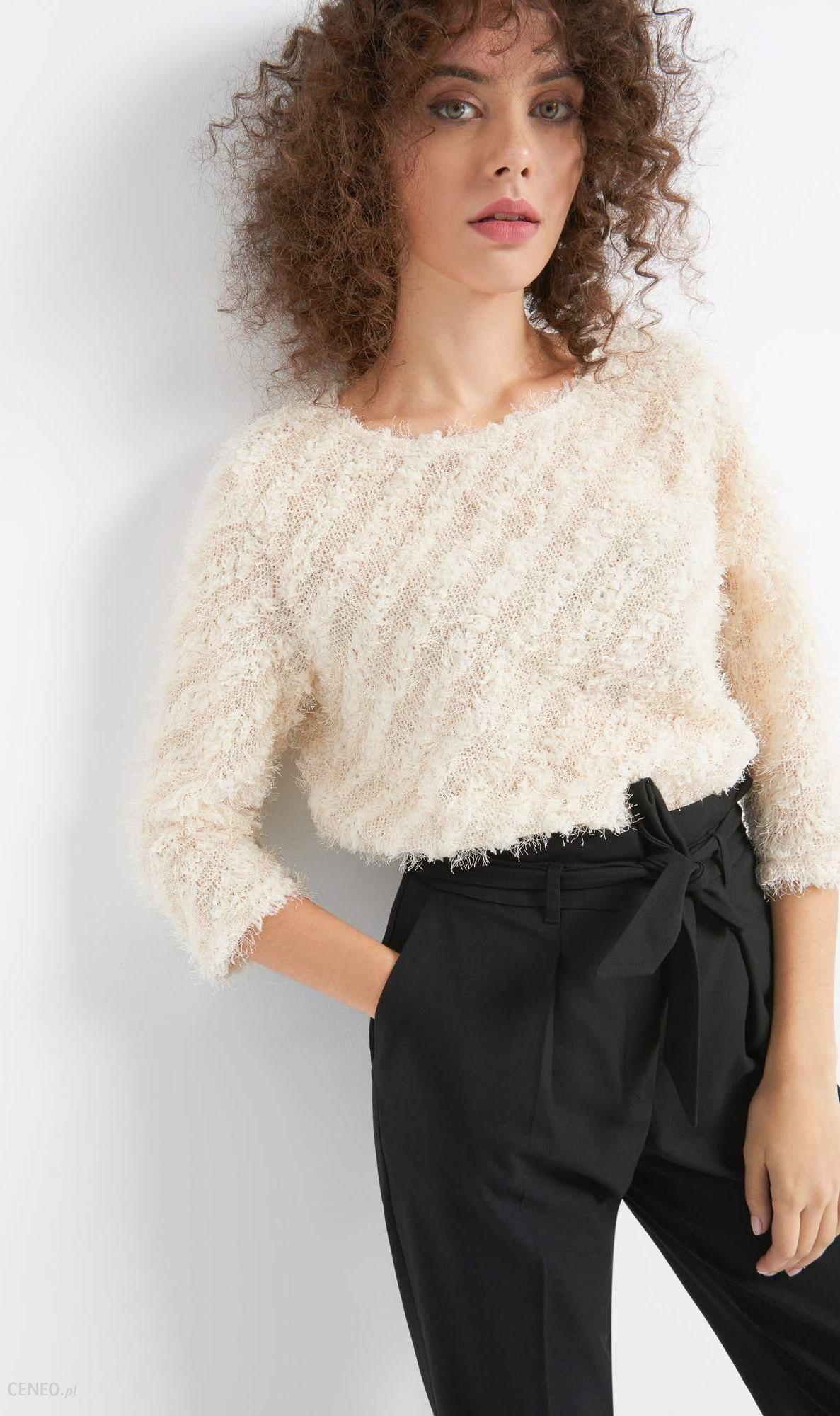 a73ea7f1d9 Orsay Puszysty sweter w ukośne paski - Ceny i opinie - Ceneo.pl