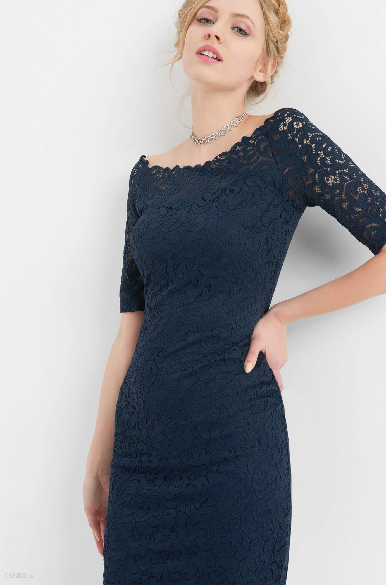 Bardzo dobry Orsay Ołówkowa sukienka z koronki - Ceny i opinie - Ceneo.pl ZF71