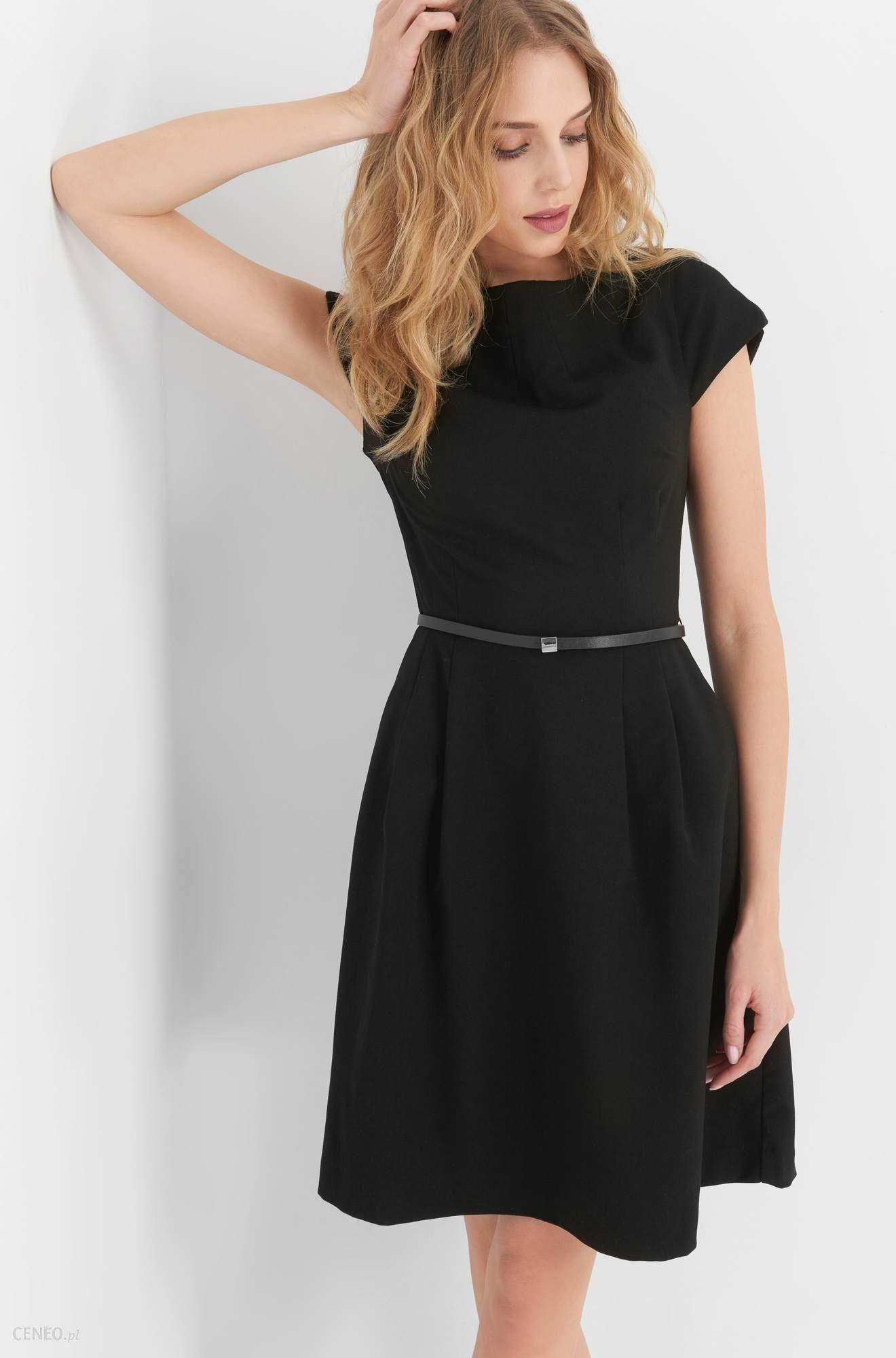 122ac0d0f7 Orsay Rozkloszowana sukienka z paskiem - Ceny i opinie - Ceneo.pl